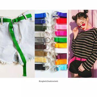 Korean Style Ring Belt Warna