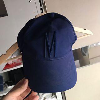 Topi Baseball Cap Hat Navy Miniso