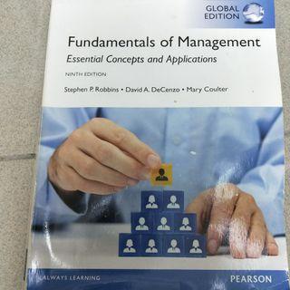 Fundamental of Management