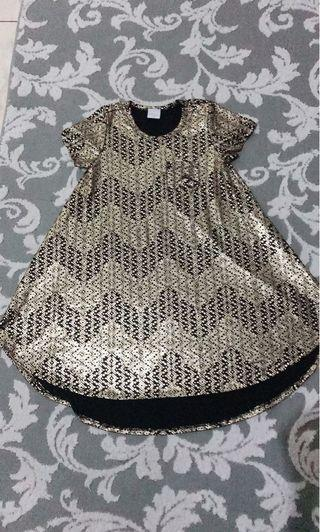 Dress batik mewah