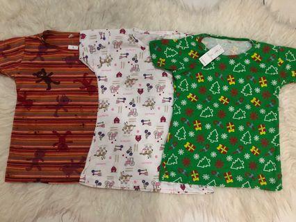 New Kaos anak motif