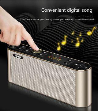 Wireless Bluetooth Speaker Portable Wireless Super Bass USB Sound HIFI Dual Speakers Mic TF FM Radio Stereo Subwoofer for Phones -intl