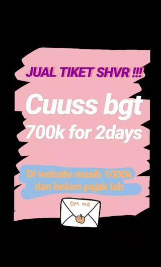 Tiket SHVR