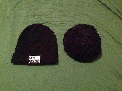 ZARA毛帽/小圓針織帽
