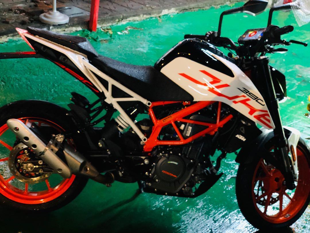 天沒重車 2019 KTM 390 ABS 單缸引擎黃牌重機「圓夢計劃❤️辦理」3500元交車