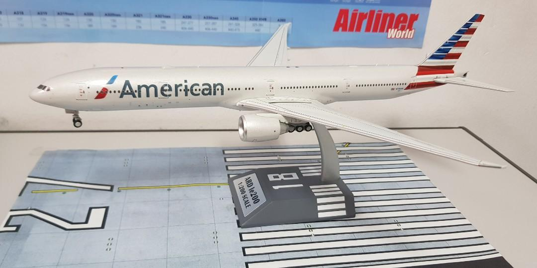 Boeing 777-300 American Airlines aircraft sticker