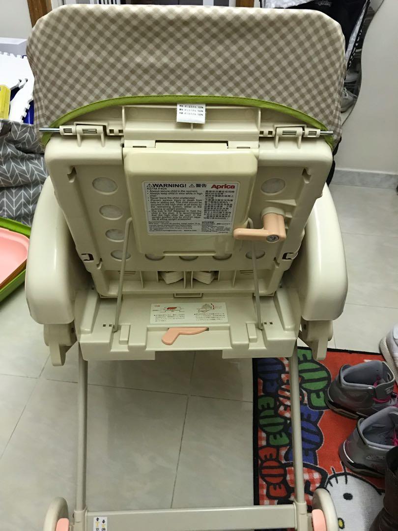 Aprica High Chair $380