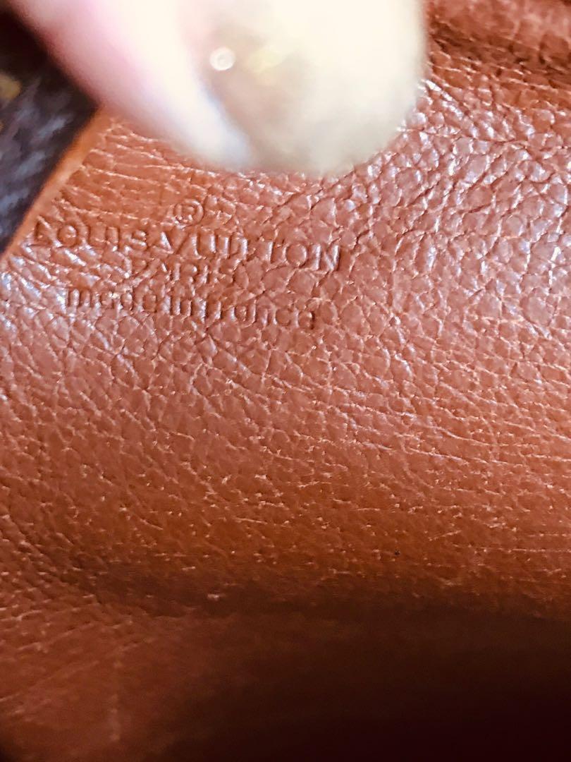 Authentic Vintage Louis Vuitton Marceau Shoulder Bag Crossbody Bag