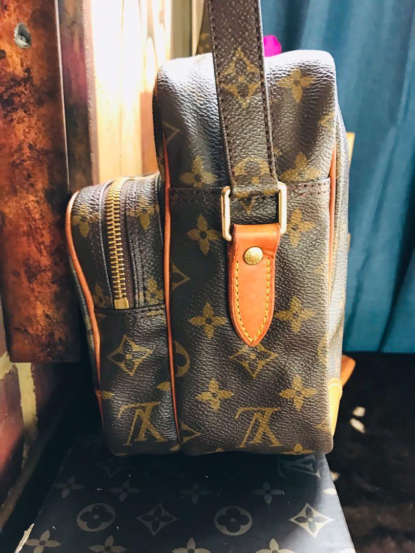 Authentic Vintage Louis Vuitton Nile Crossbody Bag