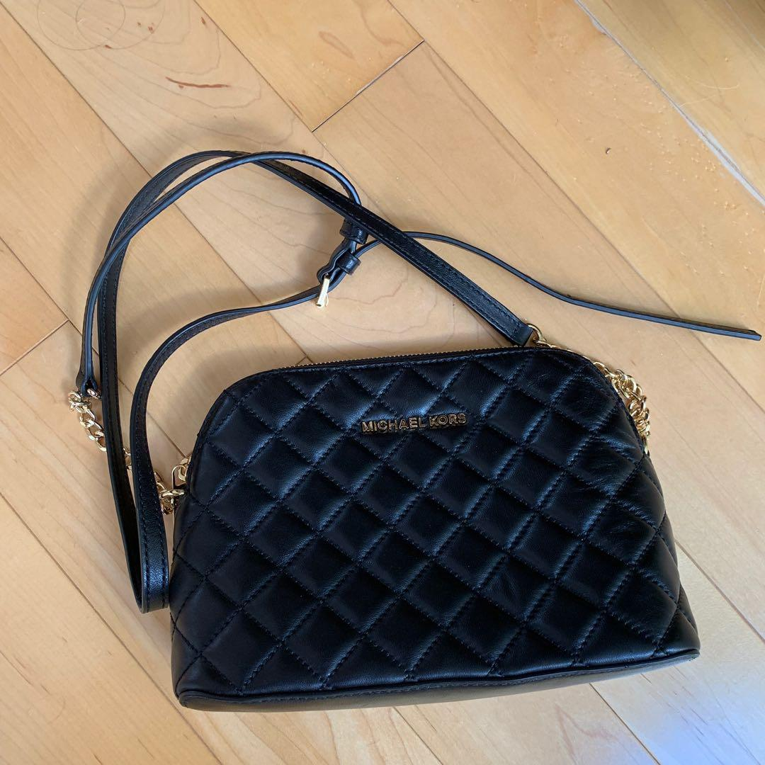 Brand New Michael Kors Quilted Leather Cross Body Bag