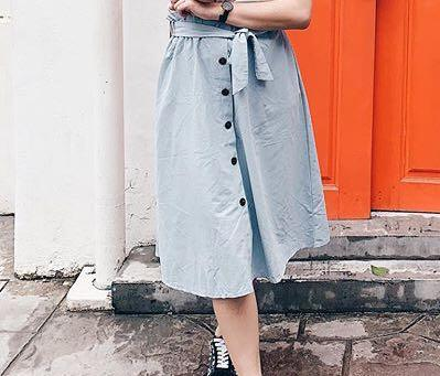 Button Skirt - rok bkk