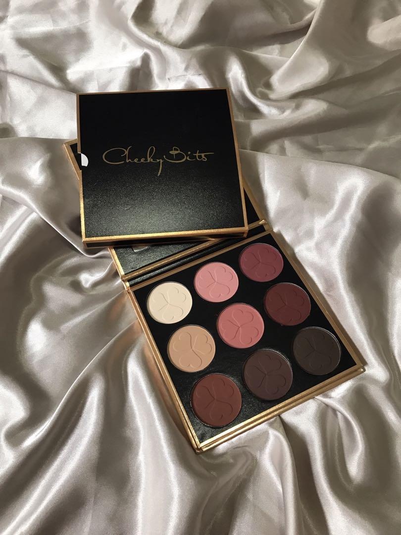 CHEEKY BITS OFFICIAL WARM TONE MATTE EYESHADOW PALETTE