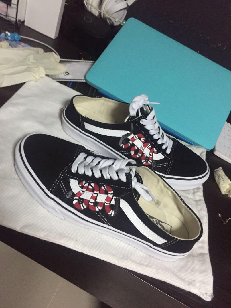 Customization] Vans Old Skool Gucci