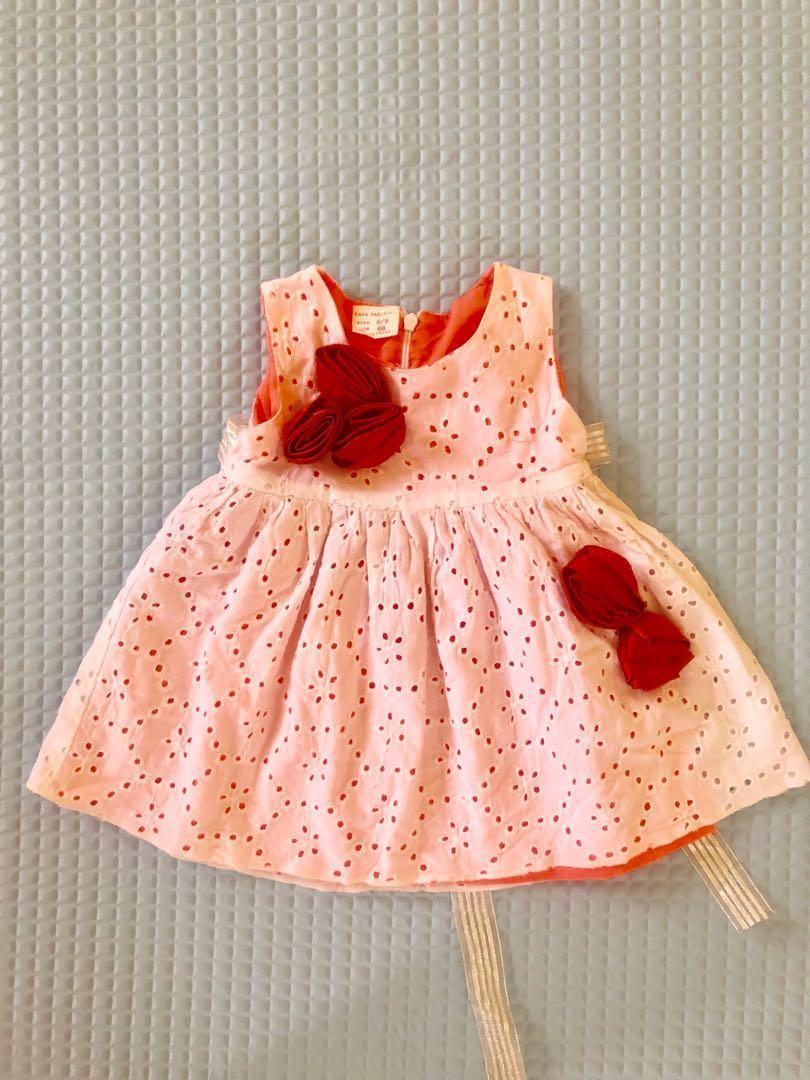 dress zara baby