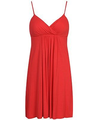 Forever21 F21 Coral Babydoll Dress