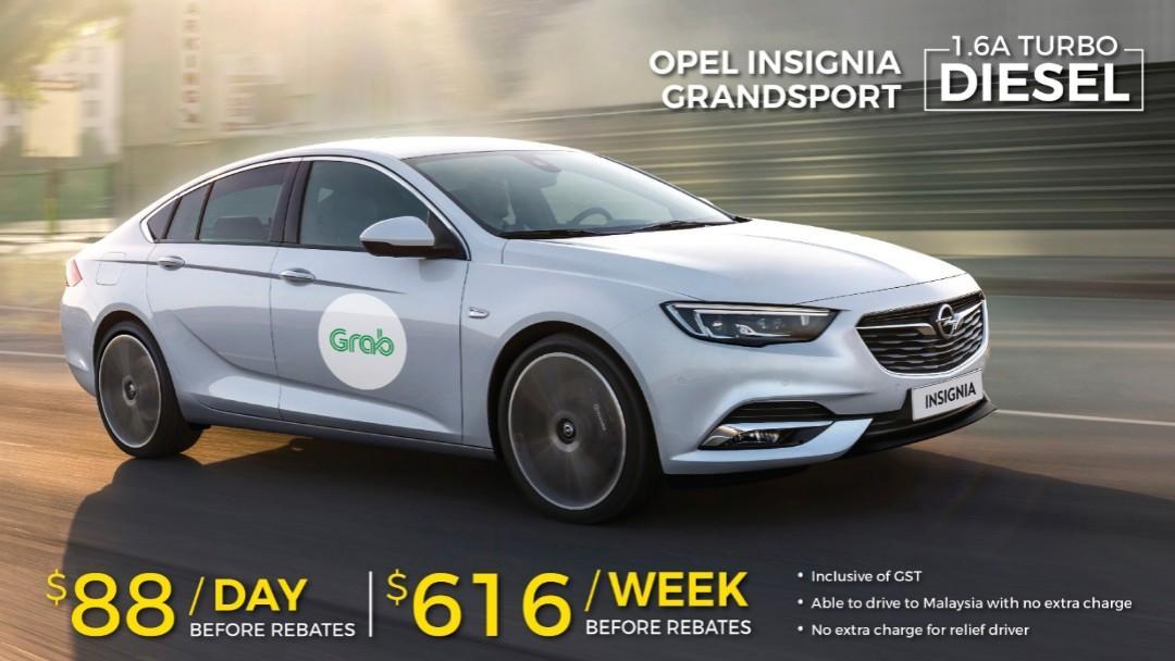 Grab Opel insignia diesel