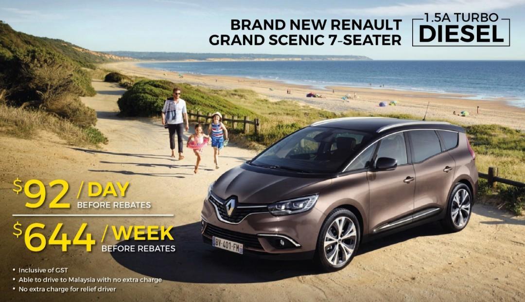 GRAB Renault Grand Scenic Diesel