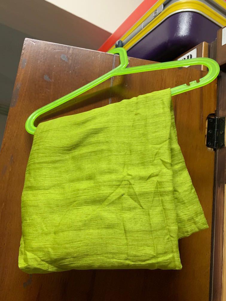 Green Cotton Shawl