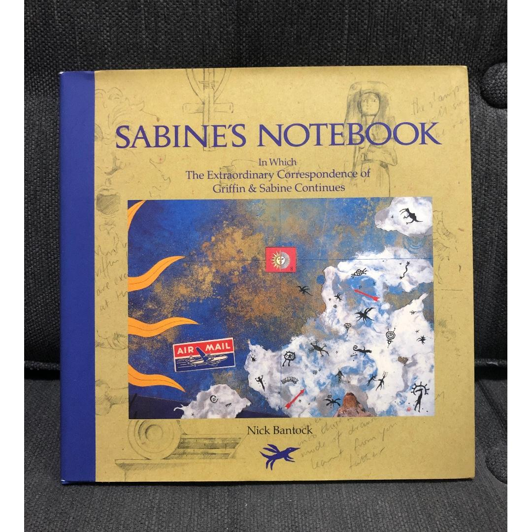 (Hardbound) Sabine's Notebook: In Which the Extraordinary Correspondence of Griffin and Sabine Continues by Nick Bantock