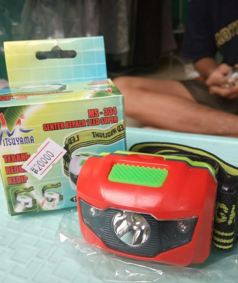 Headlamp senter kepala