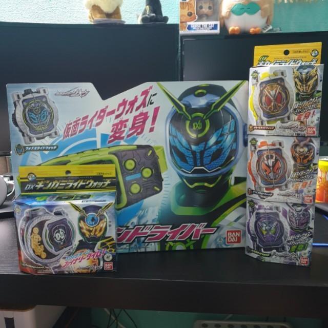 Kamen Rider Woz DX Set