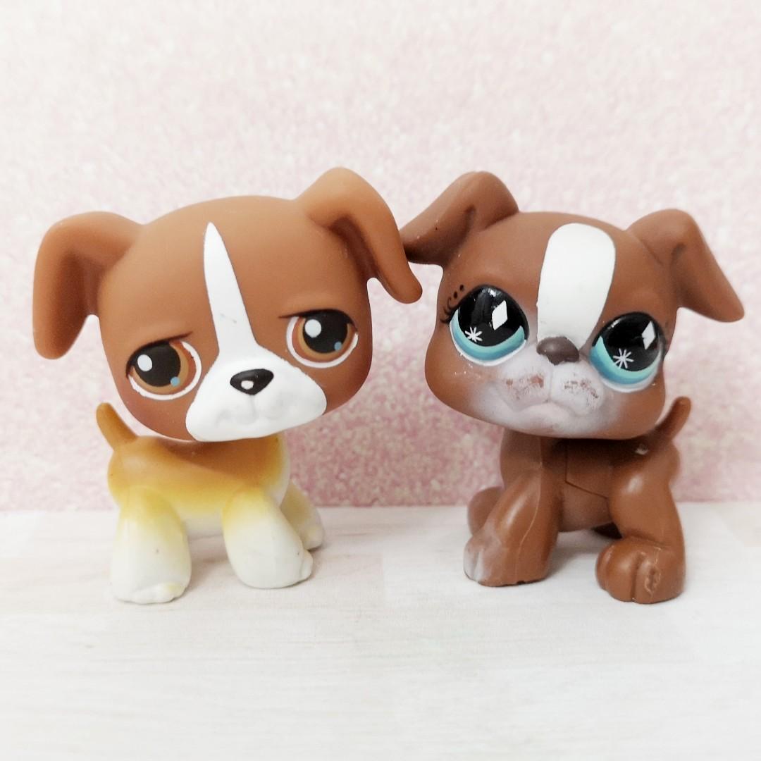 LPS Littlest Pet Shop Hasbro Xmas Gift Toy Dachshund Dog Shorthair Cat Puppy
