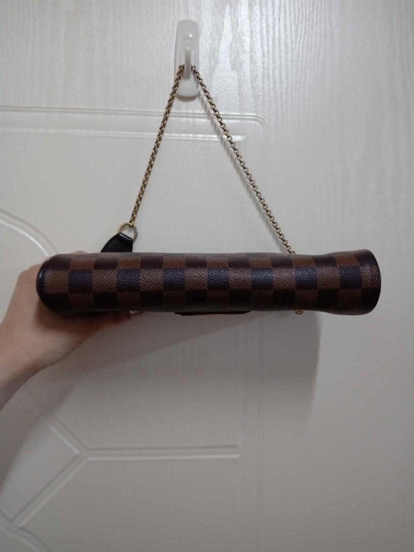 LV棋盤格紋EVA大金牌肩背包