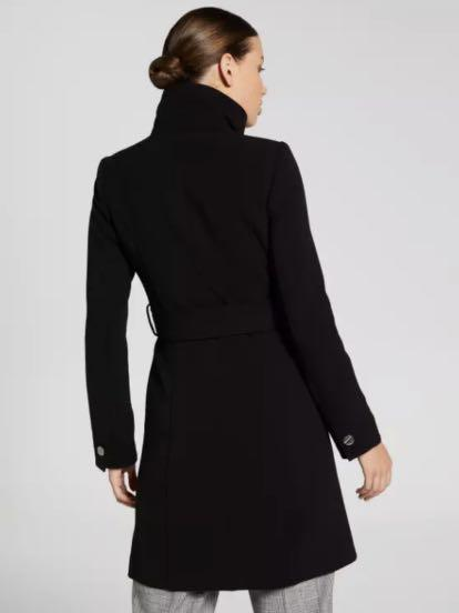 NWT Portmans Women Coat Jacket sz 6 8 10 12 16 Black