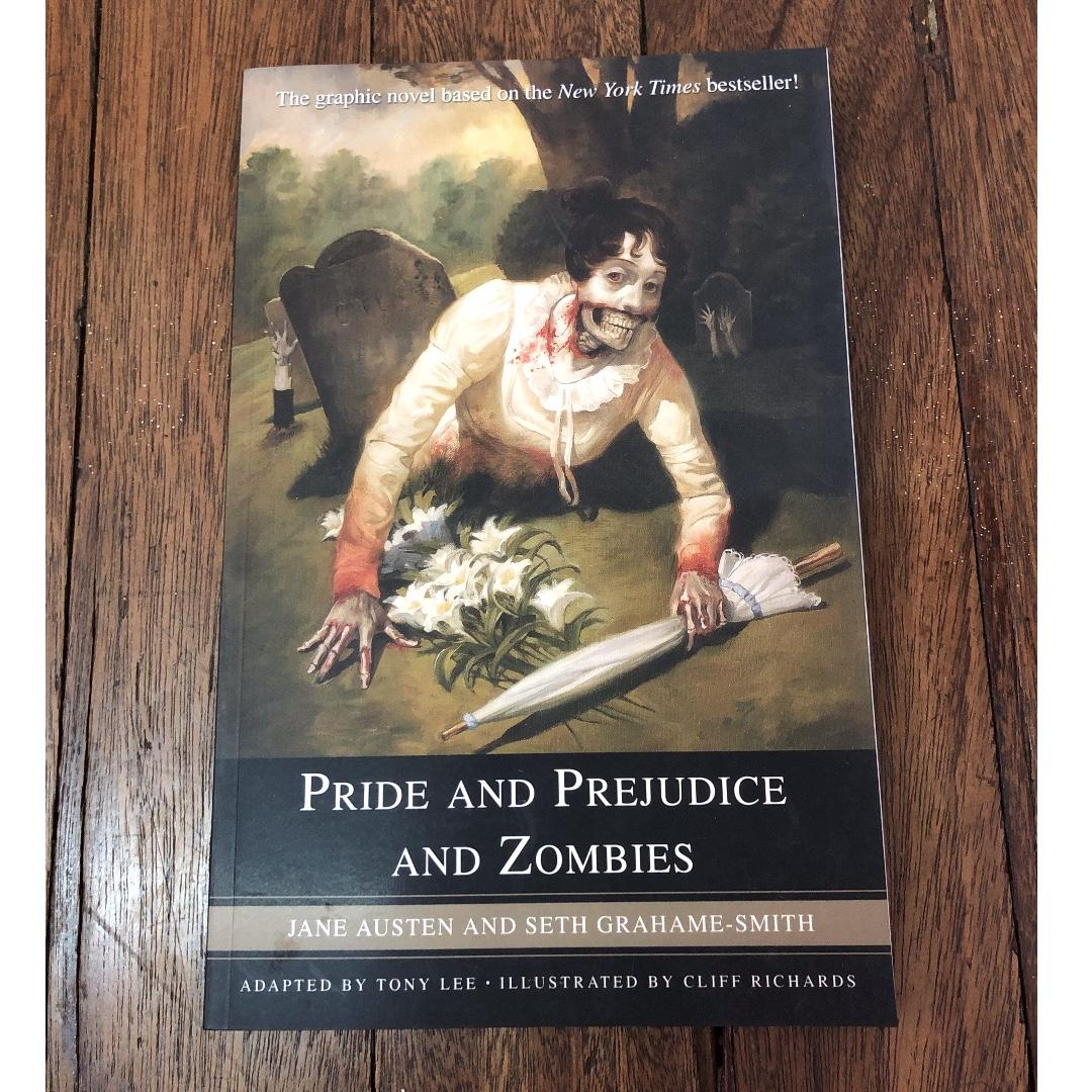 (Paperback) Pride and Prejudice and Zombies: The Graphic Novel by Tony Lee, Jane Austen and Seth Grahame-Smith