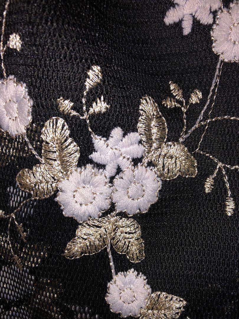 PRINCESS POLLY Embroided Orient Mini Wrap Skirt (AU8, fits a AU6)