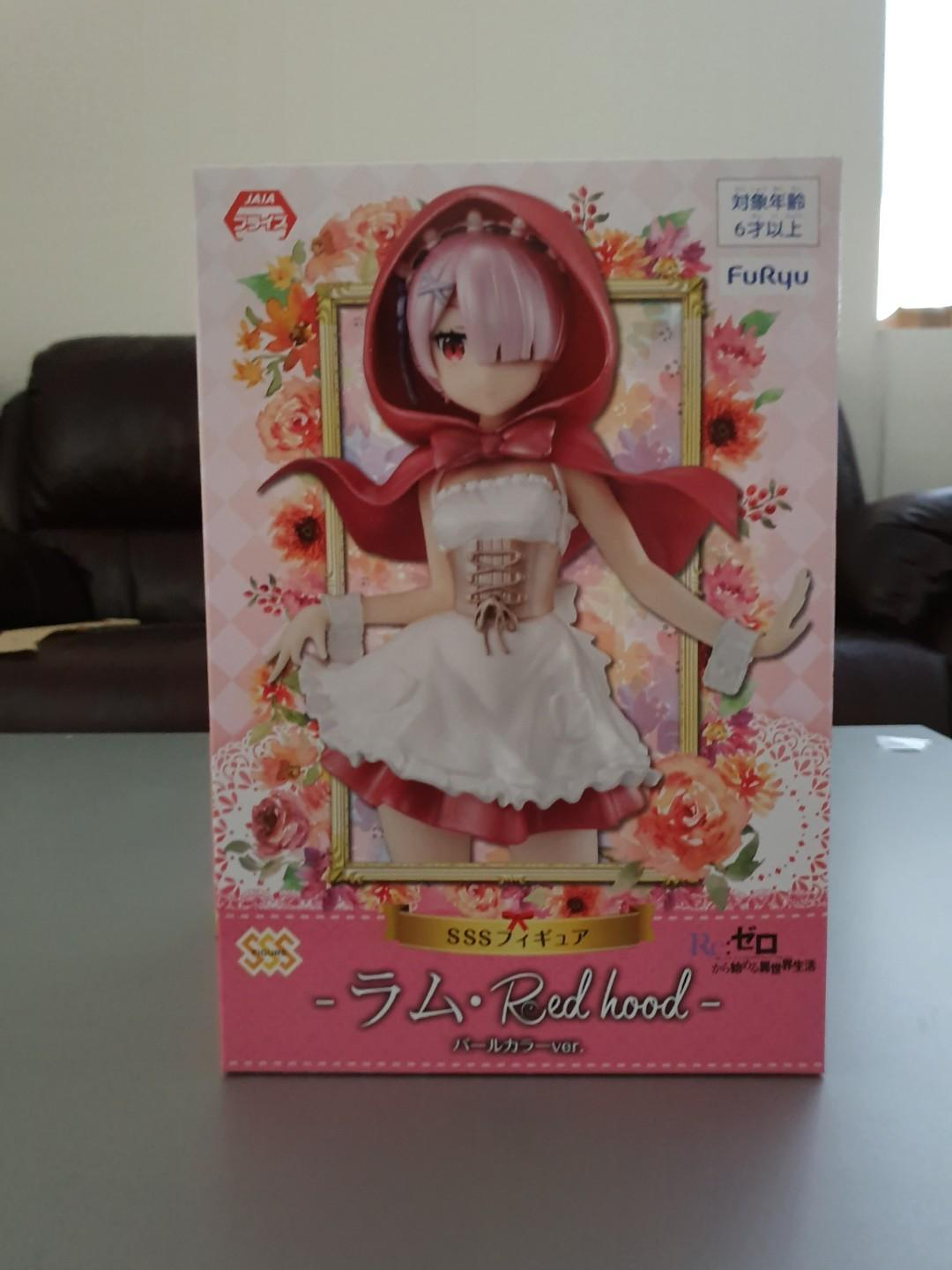 Re: Zero starting life in another world SSS figure (Red hood Ram)