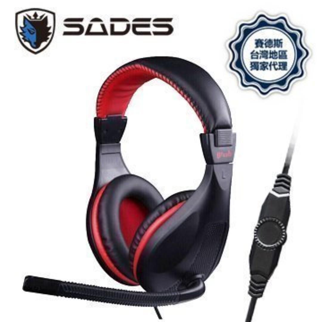 SADES賽德斯 Brush 狼鬃 SA-713 電競耳麥 耳機麥克風 Phone/PC/MP3