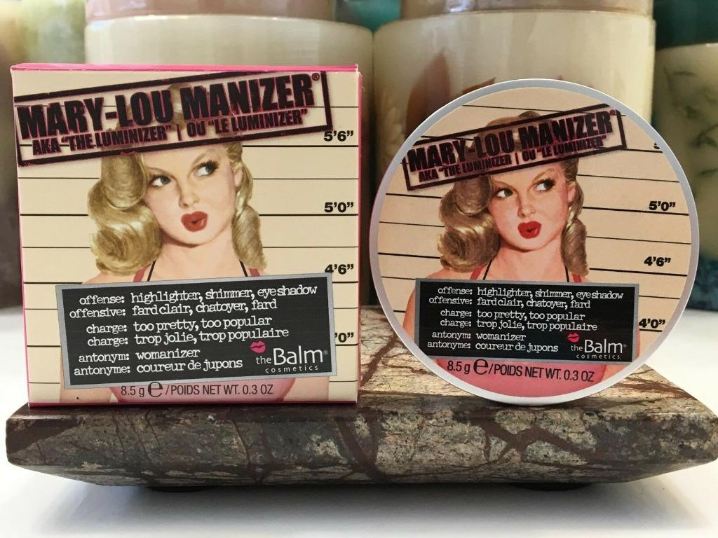 The Balm Thebalm Mary Lou Manizer 100% AUTHENTIC & NEW (PRICE IS FIRM, NO SWAPS)