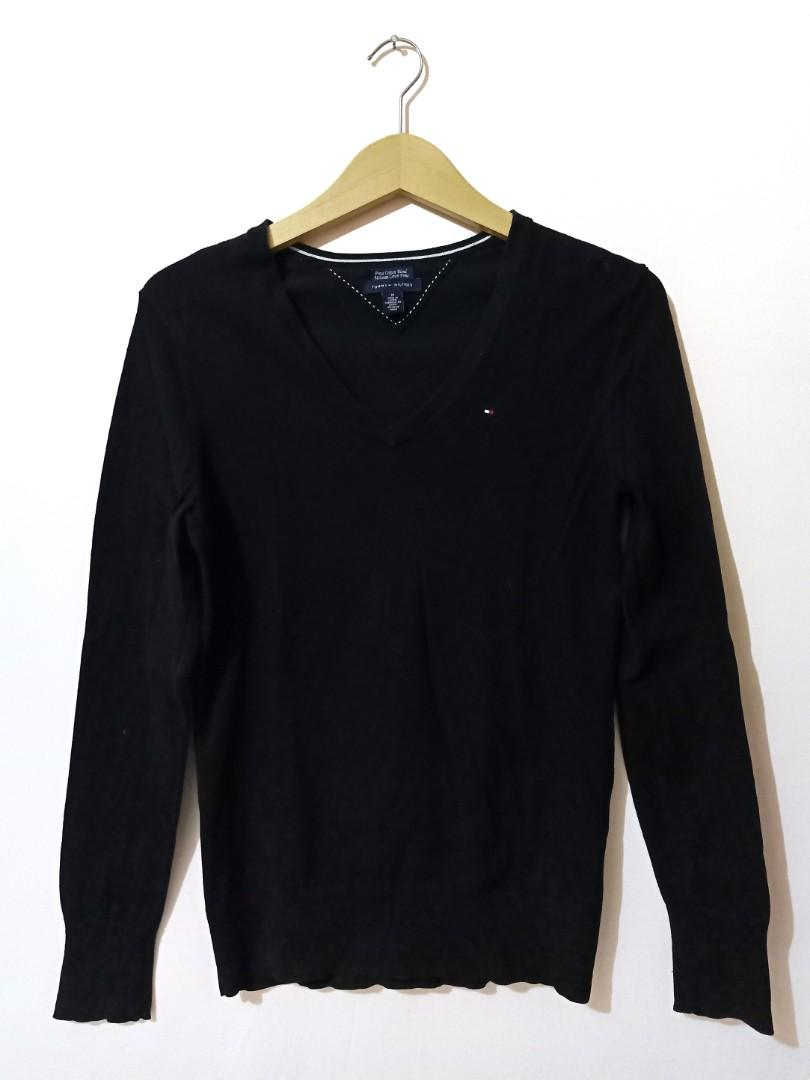 Tommy Hilfiger Black Knitwear