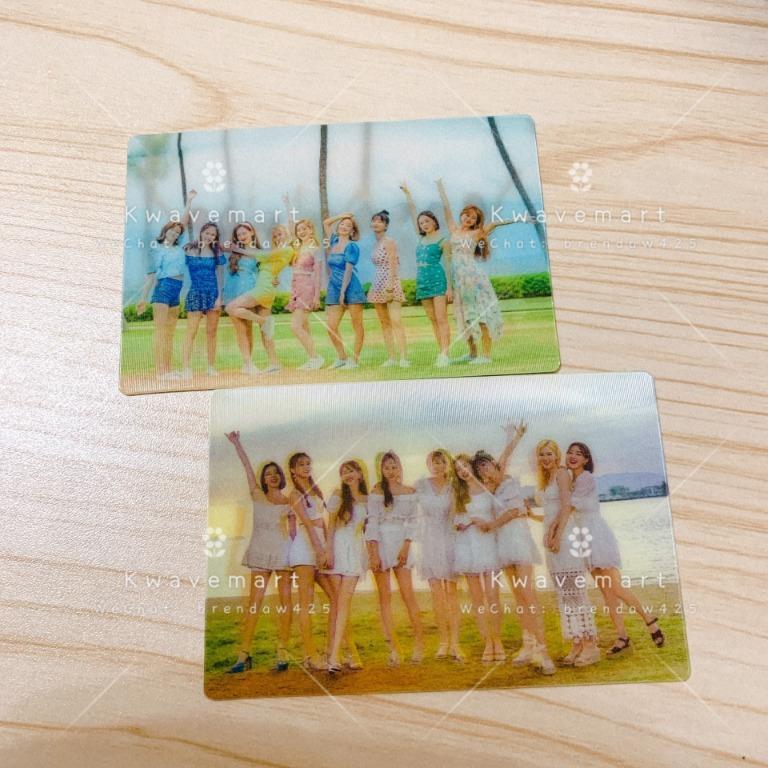 [READY STOCK] TWICE Twaii's Pop Up Store Lenticular Card Set
