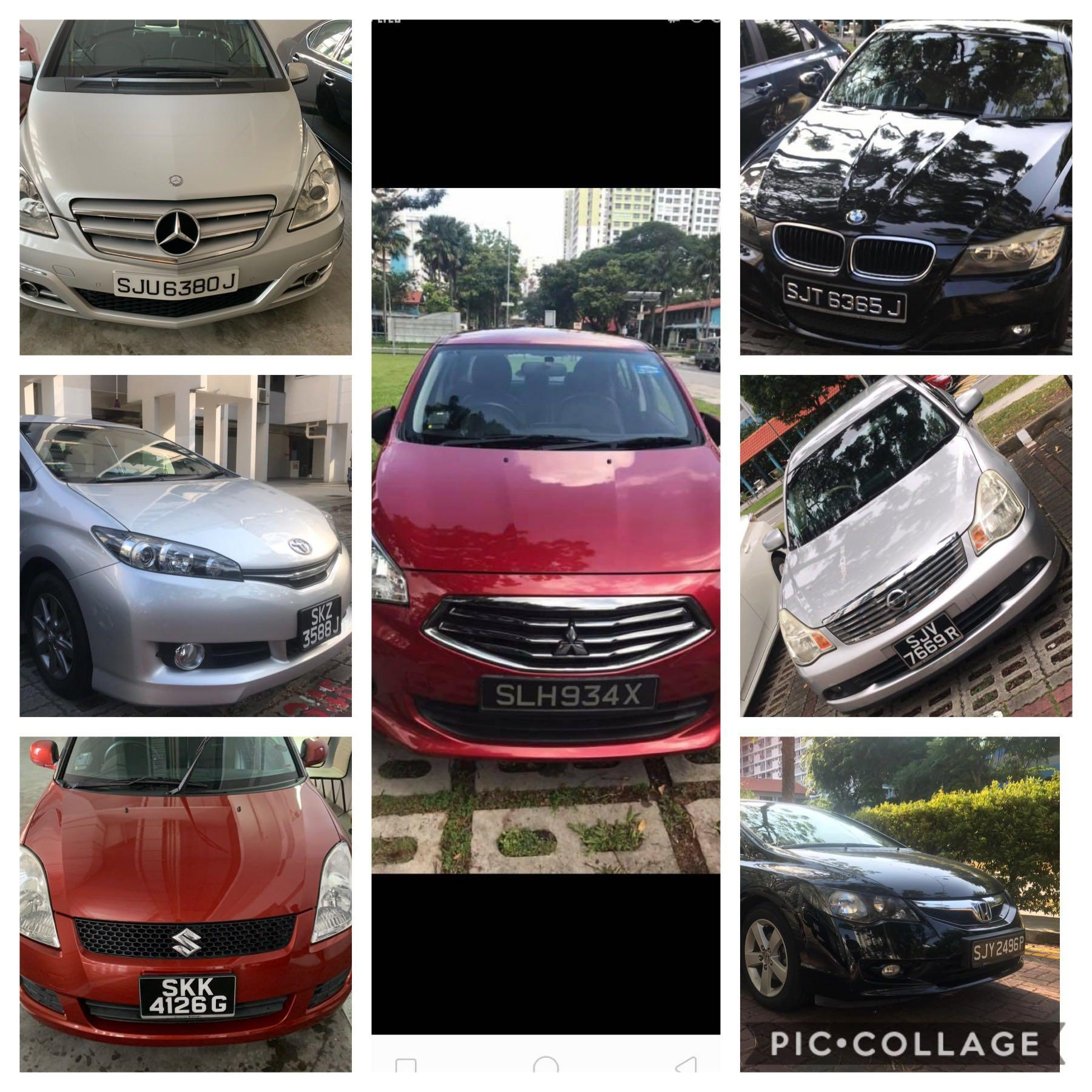 Weekday cheap car rental