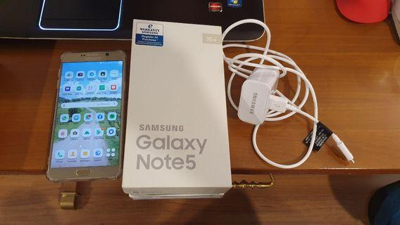 Samsung Galaxy Note 5 Excellent Condition