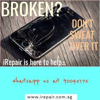 Heartache over your mobile phone's broken screen?
