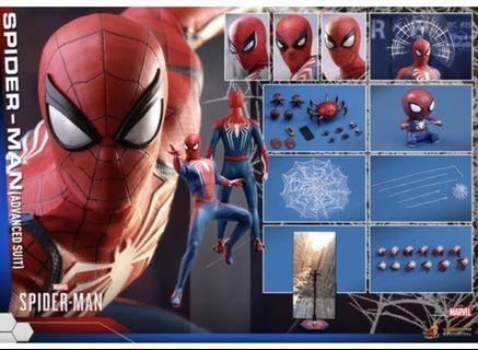 Hot toys Spider-Man Advance Suit