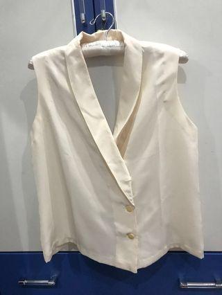 Broken white vest