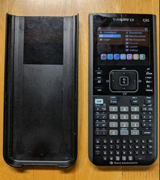 CAS Ti Nspire CX Texas Instruments Graphic Calculator