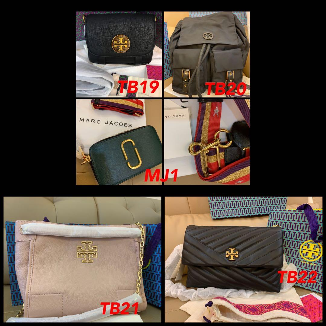 (01/09/19)Ready Stock Authentic Tory Burch bag wallet wristlet Marc Jacobs backpack listing