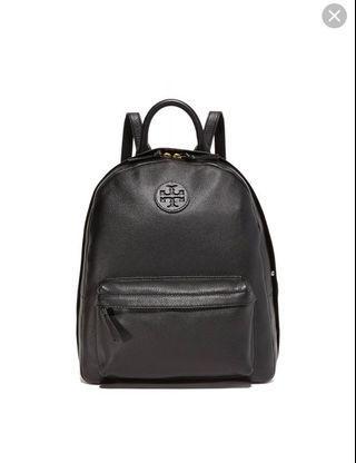 Tory Burch pebbled leather ella backpack