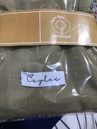 NEW hijab CAYLEE voal plain segiempat laser cut