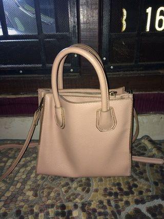 sling bag miniso pink