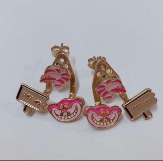 迪士尼妙妙貓耳環