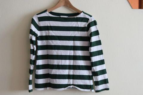 Long sleeve striped tops