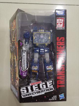 Transformers War of Cybertron: Siege Soundwave