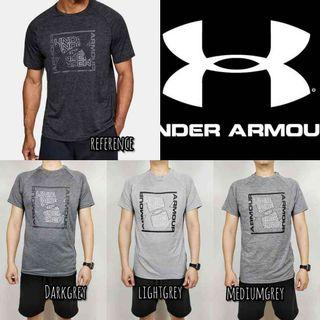 under armour men graphic sport style big logo top original