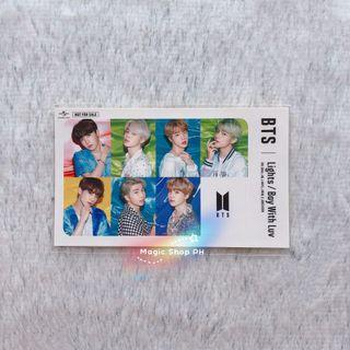 BTS LIMITED「Lights / Boy With Luv」IC CARD STICKER